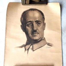 Coleccionismo Calendarios: CALENDARIO DE FRANCO. FALANGE ESPAÑOLA. VALVERDE-RENTERÍA. 1938.. Lote 133908814