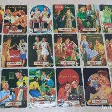 Coleccionismo Calendarios: SERIE DE 18 CALENDARIOS DE COCA COLA 2018.. Lote 145969833