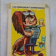 Coleccionismo Calendarios: CALENDARIO DE BOLSILLO CERVEZA STARK-TURIA - AÑO 1965. Lote 134039174