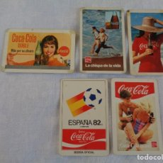 Coleccionismo Calendarios: 10 CALENDARIOS COCA COLA -1965 - 1973 - 1980 - 1982 - 1985 - 1988 - 1989 - 1991 -1992 -1993 FOURNIER. Lote 134039470