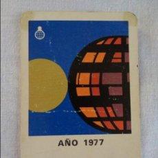 Coleccionismo Calendarios: CALENDARIO FOURNIER CAJA DE AHORROS DE TORRENTE 1977. Lote 134039994