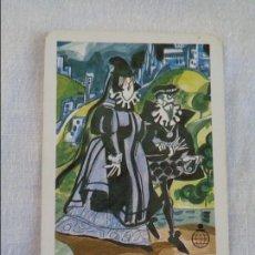Coleccionismo Calendarios: CALENDARIO FOURNIER. CAJA DE AHORROS DE CARLET, HOMENAJE A EL GRECO. 1989. Lote 134040314