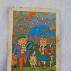Coleccionismo Calendarios: CALENDARIO FOURNIER. CAJA DE AHORROS Y MONTE DE PIEDAD DE SEGORBE.1986. Lote 134040862