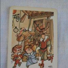 Coleccionismo Calendarios: CALENDARIO DE BOLSILLO - FOURNIER - 1987 - CAJA DE AHORROS DE ONTINYENT. Lote 134041034