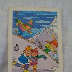 Coleccionismo Calendarios: CALENDARIO FOURNIER. CAJA DE AHORROS ONTINYENT. 1986. Lote 134041222