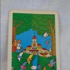 Coleccionismo Calendarios: CALENDARIO DE BOLSILLO - FOURNIER - 1986 - CAJA DE AHORROS DE ONTINYENT. Lote 134042266