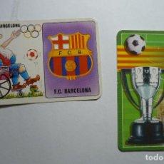 Coleccionismo Calendarios: LOTE CALENDARIOS FUTBOL BARCELONA 1992-2005. Lote 134062974