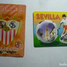 Coleccionismo Calendarios: LOTE CALENDARIOS FUTBOL SEVILLA FC 2005-2006. Lote 134064834