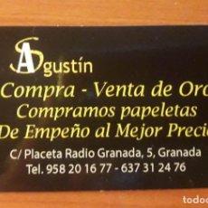 Coleccionismo Calendarios: CALENDARIO COMPRA VENTA ORO. SIN INDICACIÓN DEL AÑO. Lote 134065722
