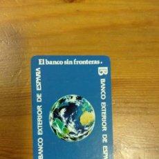 Coleccionismo Calendarios: CALENDARIO FOURNIER BANCO EXTERIOR 1987. Lote 134575982