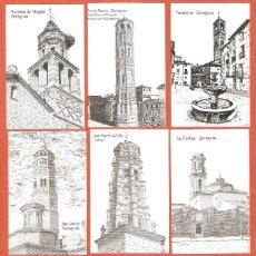 Coleccionismo Calendarios: 18 CALENDARIOS BOLSILLO AÑO 2002 DIBUJOS A PLUMILLA - ZARAGOZA - SERIE COMPLETA - FOTO DE TODOS. Lote 134642710