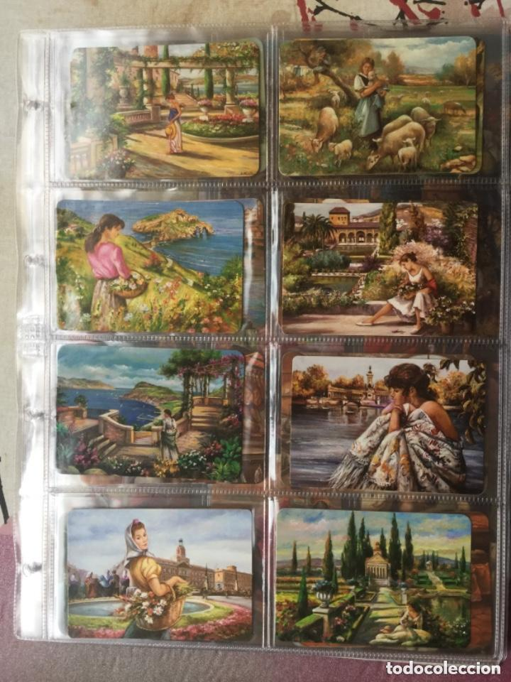 Coleccionismo Calendarios: LOTE DE 107 CALENDARIOS DE PINTURAS - Foto 2 - 135030210