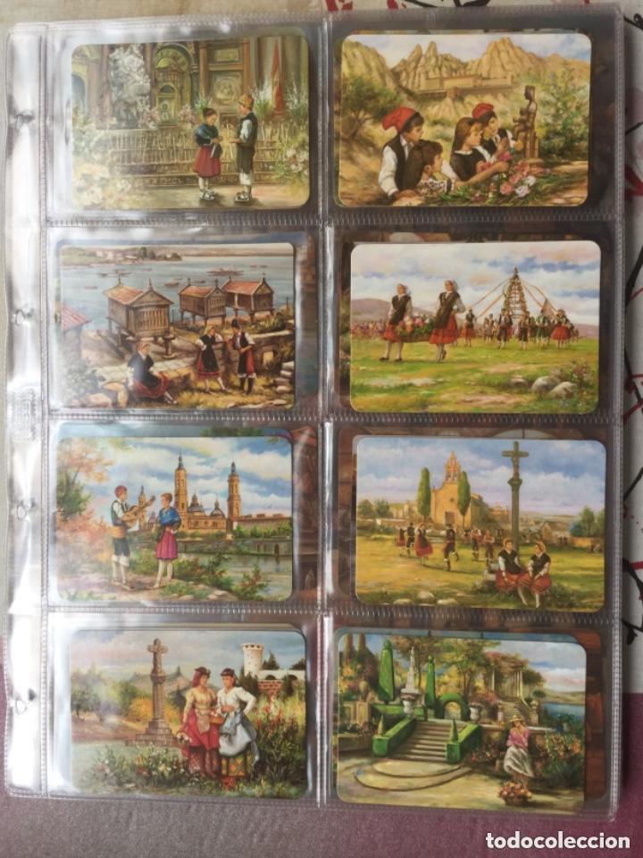 Coleccionismo Calendarios: LOTE DE 107 CALENDARIOS DE PINTURAS - Foto 3 - 135030210