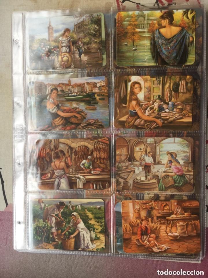 Coleccionismo Calendarios: LOTE DE 107 CALENDARIOS DE PINTURAS - Foto 4 - 135030210
