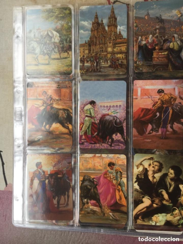 Coleccionismo Calendarios: LOTE DE 107 CALENDARIOS DE PINTURAS - Foto 5 - 135030210