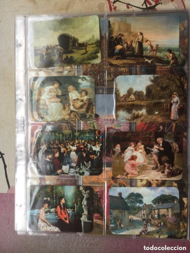 Coleccionismo Calendarios: LOTE DE 107 CALENDARIOS DE PINTURAS - Foto 7 - 135030210