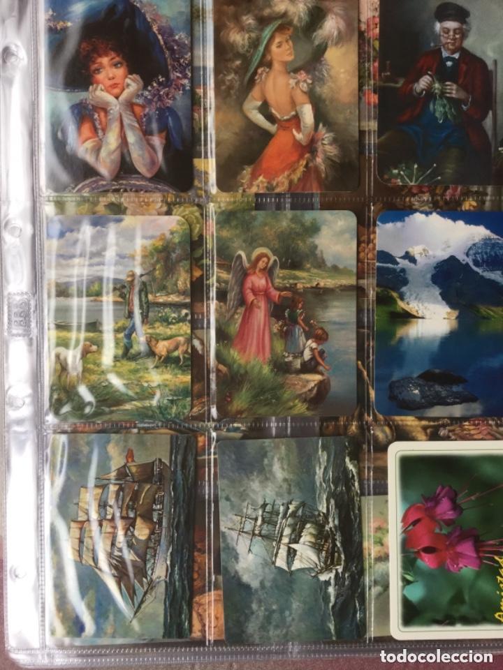 Coleccionismo Calendarios: LOTE DE 107 CALENDARIOS DE PINTURAS - Foto 8 - 135030210