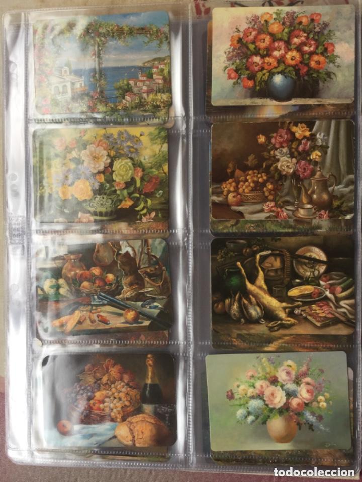 Coleccionismo Calendarios: LOTE DE 107 CALENDARIOS DE PINTURAS - Foto 9 - 135030210