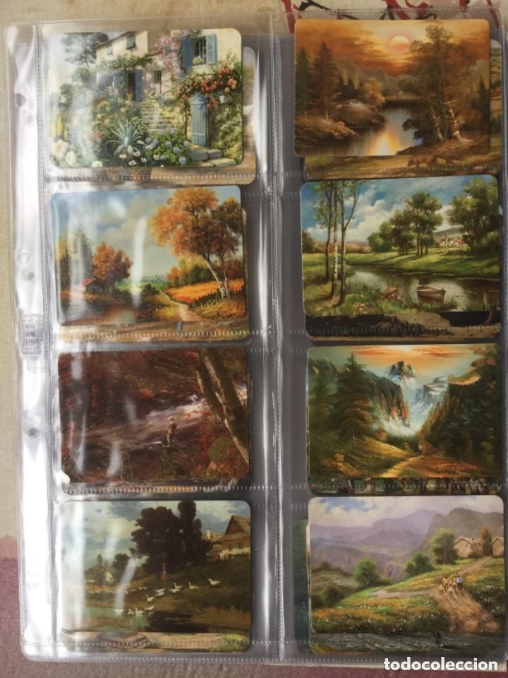 Coleccionismo Calendarios: LOTE DE 107 CALENDARIOS DE PINTURAS - Foto 10 - 135030210