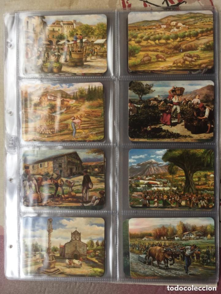 Coleccionismo Calendarios: LOTE DE 107 CALENDARIOS DE PINTURAS - Foto 11 - 135030210