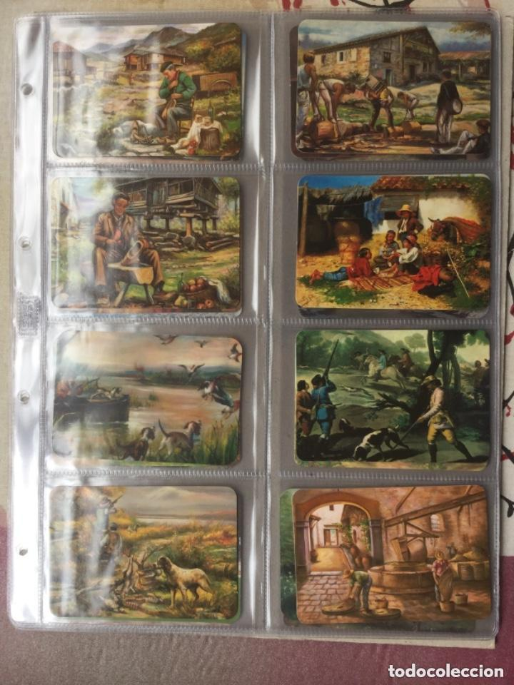 Coleccionismo Calendarios: LOTE DE 107 CALENDARIOS DE PINTURAS - Foto 12 - 135030210