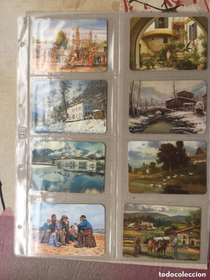 Coleccionismo Calendarios: LOTE DE 107 CALENDARIOS DE PINTURAS - Foto 14 - 135030210