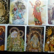 Coleccionismo Calendarios: LOTE CALENDARIOS RELIGIOSOS DIF.AÑOS. Lote 135165970