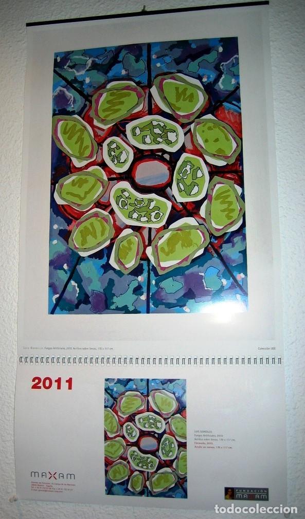 CALENDARIO PARED DE UNION ESPAÑOLA DE EXPLOSIVOS- 2011- COMPLETO- (Coleccionismo - Calendarios)
