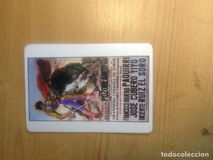 Coleccionismo Calendarios: Calendario- Cartel maldito. Pozoblanco- Muerte de PAQUIRRI - Foto 2 - 135172426