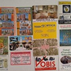 Coleccionismo Calendarios: LOTE 18 CALENDARIOS PUBLICIDAD AÑO 2000. Lote 135487138