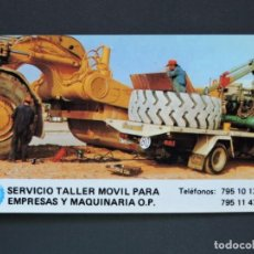 Coleccionismo Calendarios: CALENDARIO BOLSILLO - NEUMÁTICOS GORDILLO - MADRID - AÑO 1985. Lote 135569002