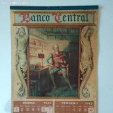 Coleccionismo Calendarios: ALMANAQUE O CALENDARIO CERVANTINO BANCO CENTRAL AÑO 1947 M. DIAGO , COMPLETO. Lote 135641399