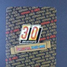 Coleccionismo Calendarios: CALENDARIO BOLSILLO - HOPAMA - FOURNIER - AÑO 1990. Lote 135689455