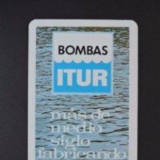 Coleccionismo Calendarios: CALENDARIO BOLSILLO - BOMBAS ITUR - FOURNIER - AÑO 1971. Lote 135793210