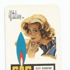 Coleccionismo Calendarios: CALENDARIO FOURNIER 1959 GAS LEBON. Lote 136195654