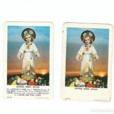 Coleccionismo Calendarios: ESTUPENDO LOTE 2 CALENDARIOS FOURNIER. DIVINO NIÑO JESÚS, PAMPLONA CON TEXTO Y SIN TEXTO AÑO 1963 AA. Lote 136773694