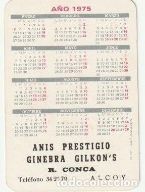 calendario de bolsillo 1975 anis prestigio r.c   Buy Old Calendars