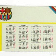 Coleccionismo Calendarios: CALENDARIO BOLSILLO - METÁLICO - FÚTBOL - F.C. BARCELONA - AÑO 1987. Lote 137236938