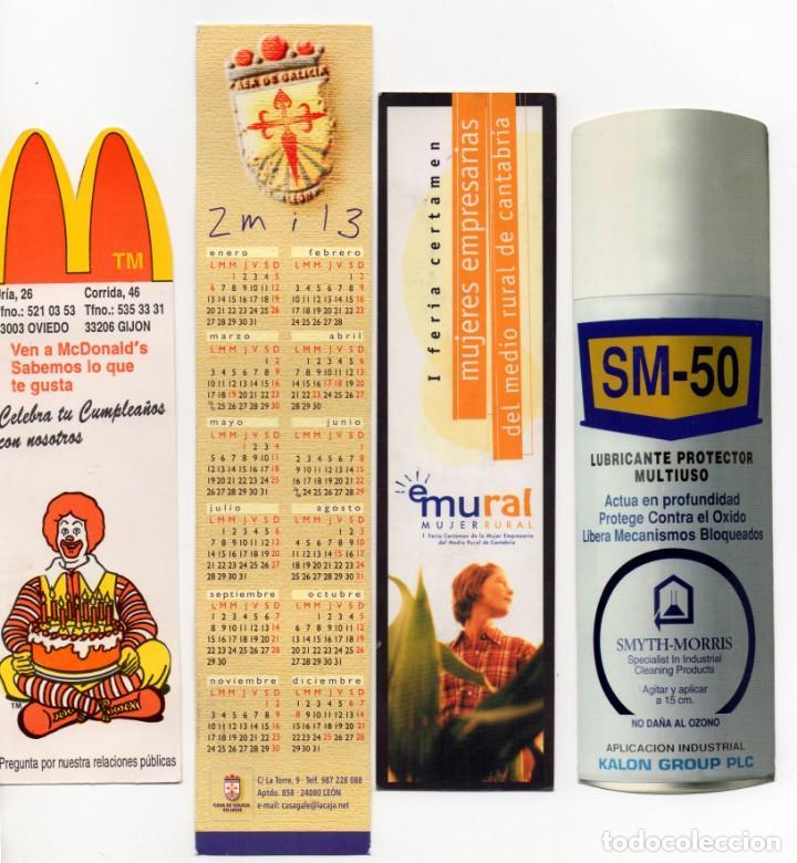Marca Calendario.Calendario Publicidad Marca Paginas 4 Calendarios