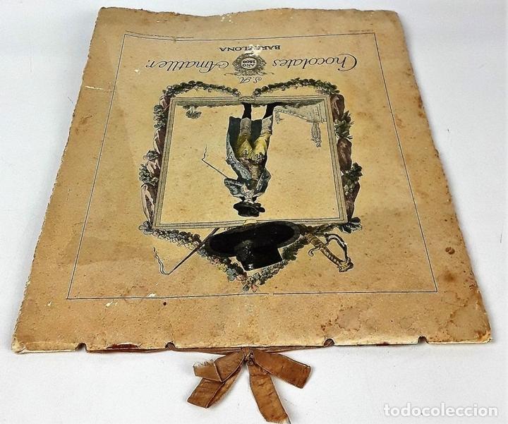 Coleccionismo Calendarios: CALENDARIO, CHOCOLATES AMATLLER S. A. BARCELONA. 1929. - Foto 5 - 138092358