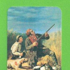 Coleccionismo Calendarios: CALENDARIO DE BOLSILLO - ESCENA DE CAZA - AÑO 2010 - SIN PUBLICIDAD -. Lote 138279646