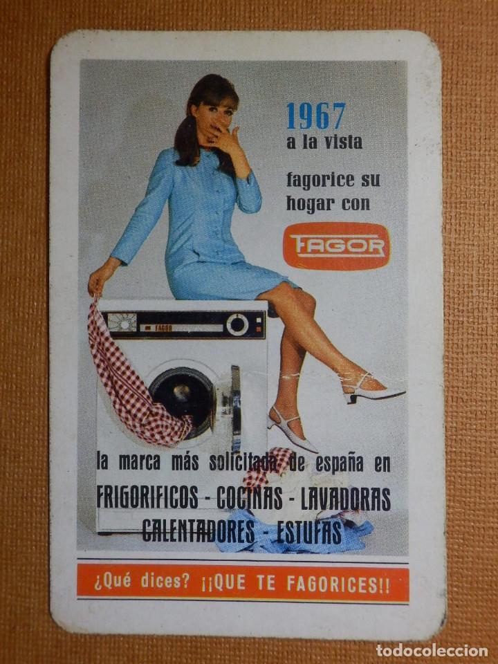 CALENDARIO FOURNIER DE BOLSILLO - FAGOR - ELECTRODOMÉSTICOS- QUE TE FAGORICES - 1967 (Coleccionismo - Calendarios)