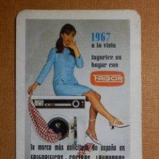 Coleccionismo Calendarios: CALENDARIO FOURNIER DE BOLSILLO - FAGOR - ELECTRODOMÉSTICOS- QUE TE FAGORICES - 1967. Lote 138461238