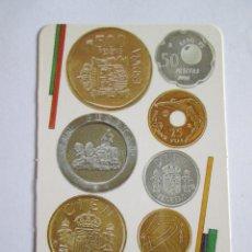 Coleccionismo Calendarios: CALENDARIO DE BOLSILLO - 1991 - FABRICA NACIONAL DE MONEDA Y TIMBRE. Lote 180083882