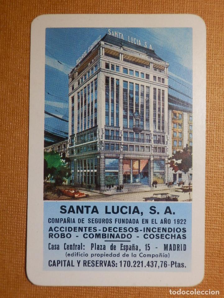 Santa Lucia Calendario.Calendario H Fournier Santa Lucia Seguros 1968