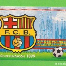 Collezionismo Calendari: CALENDARIO DE BOLSILLO - FUTBOL CLUB BARCELONA - AÑO 2000 - CON PUBLICIDAD -. Lote 138642750