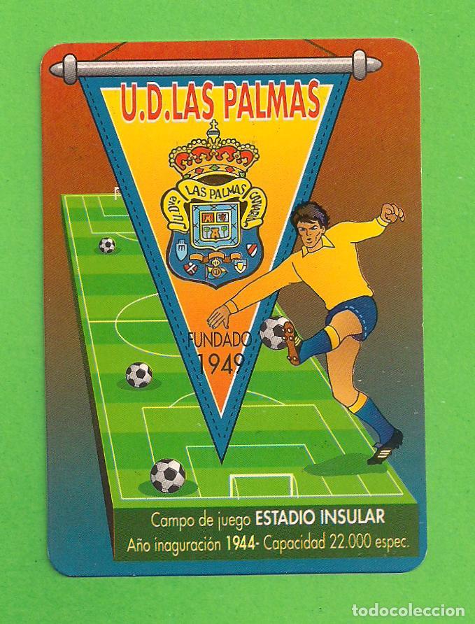 Calendario Ud Las Palmas.Calendario De Bolsillo U D Las Palmas Ano 1998 Con Publicidad