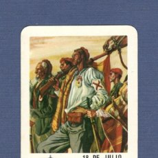 Coleccionismo Calendarios: CALENDARIO DE BOLSILLO FOURNIER AÑO 1964 - CARLISTAS. POR DIOS, LA PATRIA Y EL REY.. Lote 195158078