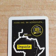 Coleccionismo Calendarios: CALENDARIO FOURNIER -- MONTESA - MOTO - MOTOCICLETA AÑO 1963 - NUEVO - VER FOTO ADICIONAL. Lote 146626756