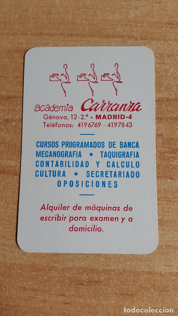 CALENDARIO FOURNIER ACADEMIA CARRANZA AÑO 1974 - NUEVO - VER FOTO ADICIONAL (Coleccionismo - Calendarios)